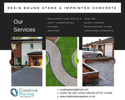 RESIN BOUND STONE & IMPRINTED CONCRETE